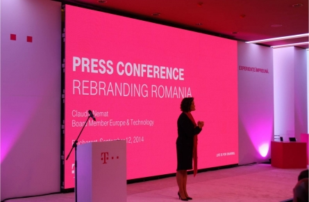 The Biggest Rebranding In Romania, TELEKOM